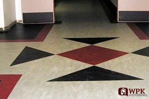 marmoleum vloer wpk stoffeerder