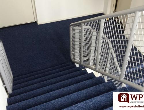 Projectstoffering tapijt trapbekleding