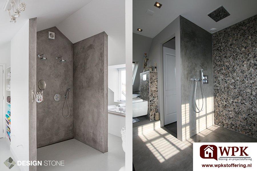 Betondesign inspiratie badkamer